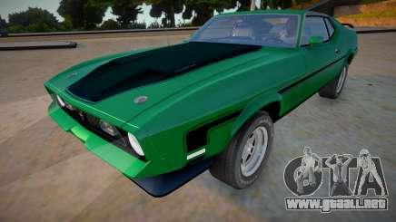 1971 Ford Mustang Mach 1 Richard Hammond para GTA San Andreas
