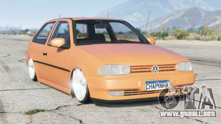 Volkswagen Gol Plus (G2) 1996〡lowered〡add-on para GTA 5