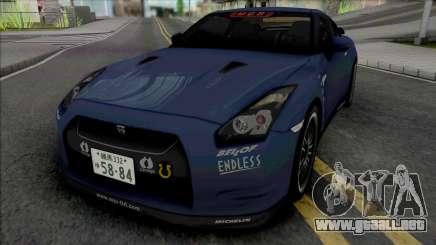 Nissan GT-R R35 MCR para GTA San Andreas