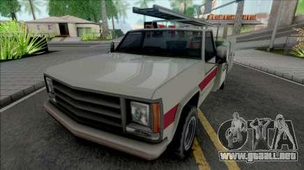 New Utility Van para GTA San Andreas