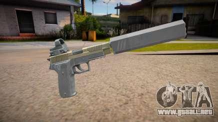 SIG P226R (Escape from Tarkov) - Silenced para GTA San Andreas