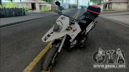 Honda XRE 300 2015 PMESP para GTA San Andreas