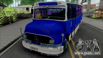 Mercedes-Benz LO 1113 Metalpar Ami 1980-1984 para GTA San Andreas