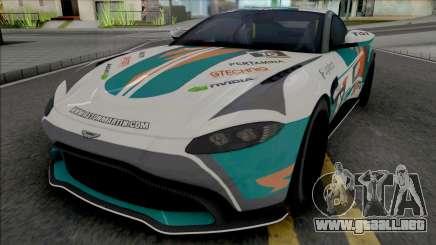 Aston Martin Vantage 2019 (Real Racing 3) para GTA San Andreas