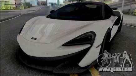McLaren 600LT para GTA San Andreas