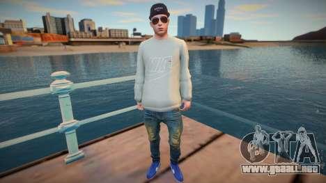 Yanix Nike style para GTA San Andreas