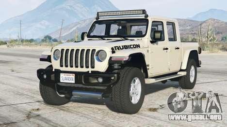 Jeep Gladiator Rubicon (JT) 2020〡add-on v1.1