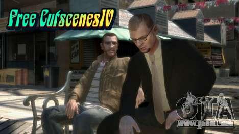 Free CutscenesIV para GTA 4