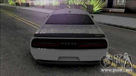 Dodge Challenger Demon SRT 2019 para GTA San Andreas