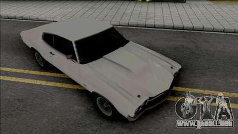 Chevrolet Chevelle SS 1970 [HQ] para GTA San Andreas
