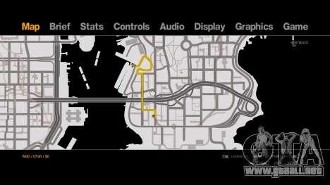 Old-Gen V Style Black on White Radar - Minimap para GTA 4