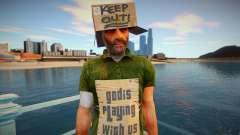 Mendigo sin hogar para GTA San Andreas