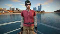 Chris de Resident Evil para GTA San Andreas