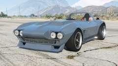 Chevrolet Corvette Grand Sport (C2) 1963〡Fast &Furious Edition〡add-on para GTA 5