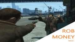Rob Money Mod BETA para GTA 4