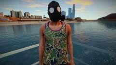 Amigo con una máscara de gas de GTA Online para GTA San Andreas
