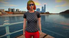 Girl 7 from GTA Online para GTA San Andreas