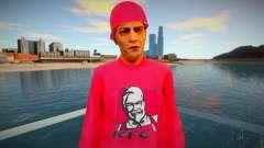 El tipo de la chaqueta roja para GTA San Andreas
