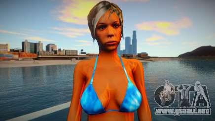 Chica en bikini para GTA San Andreas