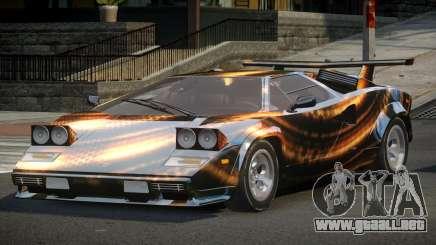Lamborghini Countach U-Style S6 para GTA 4