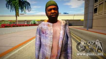 Indigente de GTA 5 v2 para GTA San Andreas