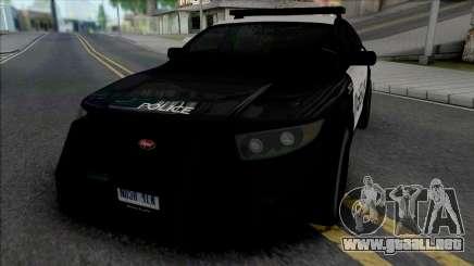 Vapid Torrence Police Los Santos para GTA San Andreas
