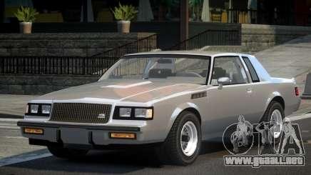 Buick GNX 80S para GTA 4