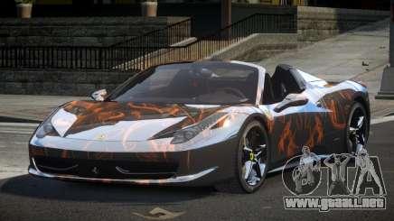 Ferrari 458 BS-S S7 para GTA 4