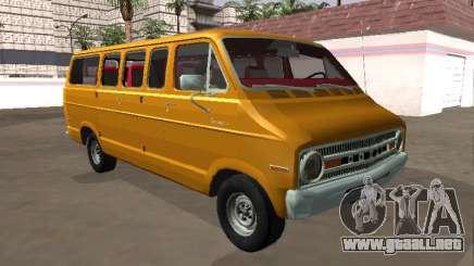 Dodge Sportsman B200 1972 Autobús v2 para GTA San Andreas