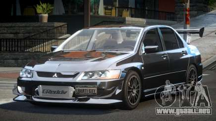 Mitsubishi Lancer Evolution VIII GST-R para GTA 4
