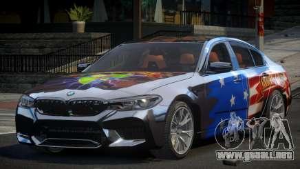 BMW M5 Competition xDrive AT S6 para GTA 4