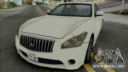 Mitsubishi Dignity 2012 (SA Style) para GTA San Andreas