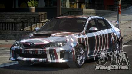 Subaru Impreza US S5 para GTA 4
