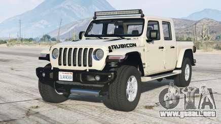 Jeep Gladiator Rubicon (JT) 2020〡add-on v1.1 para GTA 5
