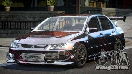 Mitsubishi Lancer Evolution VIII GST-R S9 para GTA 4