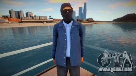 Agente del FBI con una máscara para GTA San Andreas
