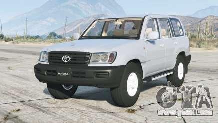 Toyota Land Cruiser GX (J100) 2006〡rims2 para GTA 5