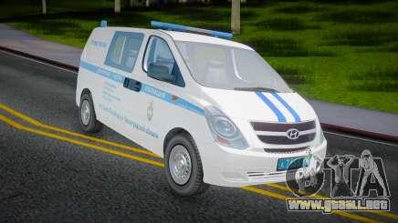 Hyundai H-1 Starex Policía del Ministerio del Interior ruso para GTA San Andreas
