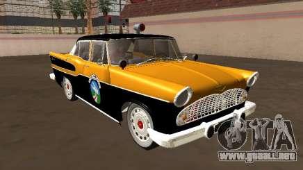 Simca Chambord 1957 Vigilante de carretera para GTA San Andreas