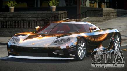 Koenigsegg CCX GST-R S3 para GTA 4