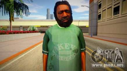 Indigente de GTA 5 v5 para GTA San Andreas
