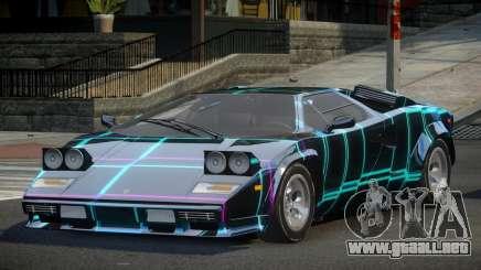 Lamborghini Countach U-Style S1 para GTA 4