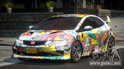 Honda Civic PSI-U L5 para GTA 4