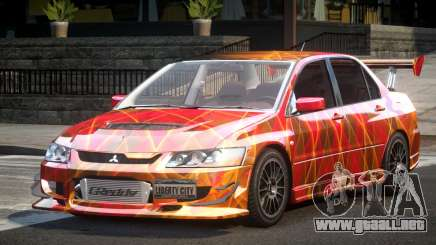 Mitsubishi Lancer Evolution VIII GST-R S1 para GTA 4