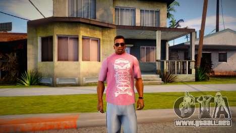New T-Shirt - tshirtmaddgrey para GTA San Andreas