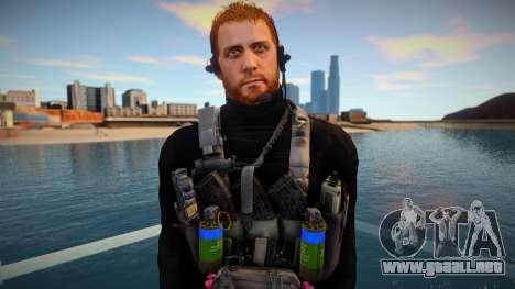 Chris Redfield Tactical(from Resident Evil Villa para GTA San Andreas