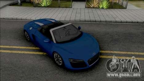Audi R8 Spyder (SA Lights) para GTA San Andreas