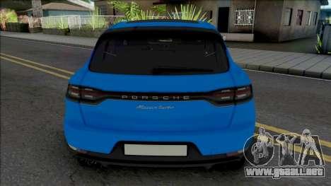 Porsche Macan Turbo Blue para GTA San Andreas