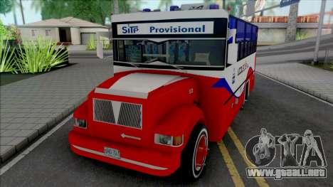 Navistar International 4700 para GTA San Andreas