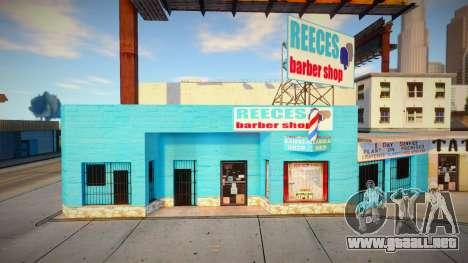 Retexturar la barbería en Idlewood para GTA San Andreas